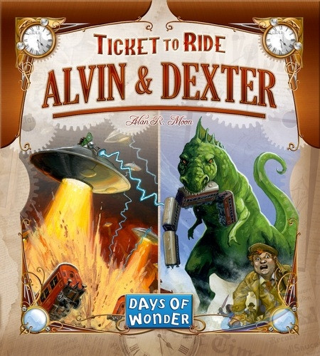Ticket to Ride: Alvin  a  Dexter