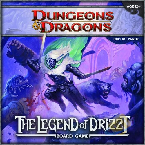 Dungeons a Dragons: The Legend of Drizzt Board Game