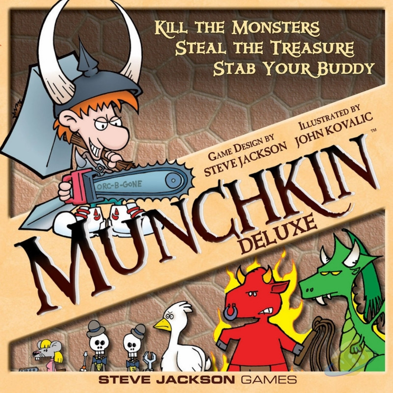 Munchkin Deluxe (anglicky)
