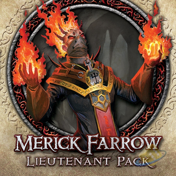 Descent: Journeys in the Dark (2nd. Ed.) - Merick Farrow Lieutenant Pack