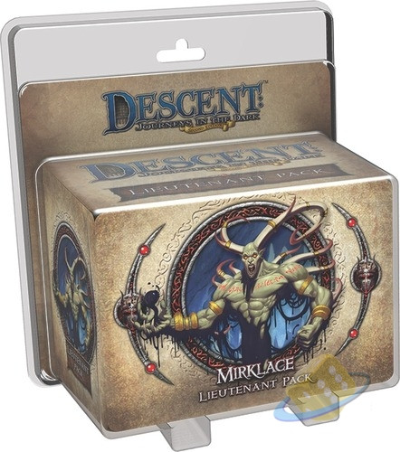 Descent: Journeys in the Dark (2nd. Ed.) - Mirklace Lieutenant Pack