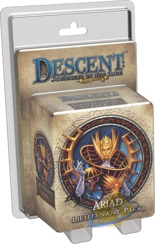 Descent: Journeys in the Dark (2nd. Ed.) - Ariad Lieutenant Pack