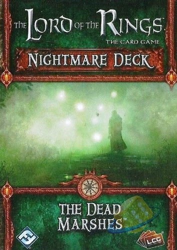 The Lord of the Rings LCG: The Dead Marshes - Nightmare Deck
