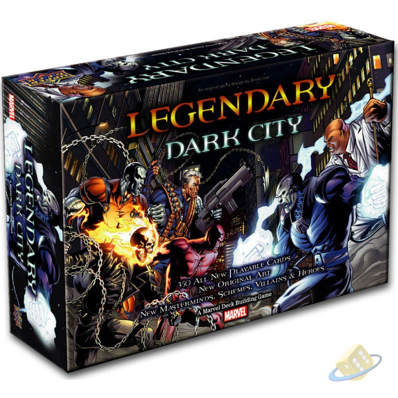 Legendary: A Marvel Deck Building Game - Dark City