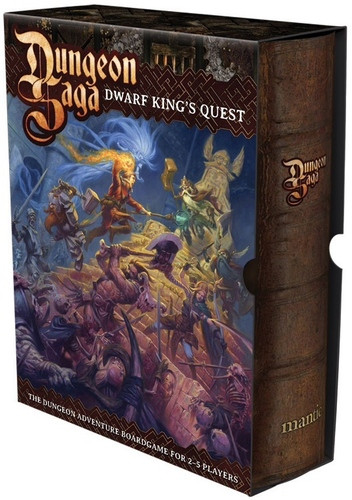 Dungeon Saga: The Dwarf King´s Quest