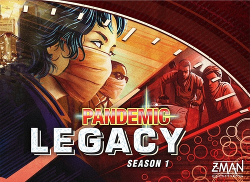 Pandemic: Legacy Season 1 (Red) - anglicky