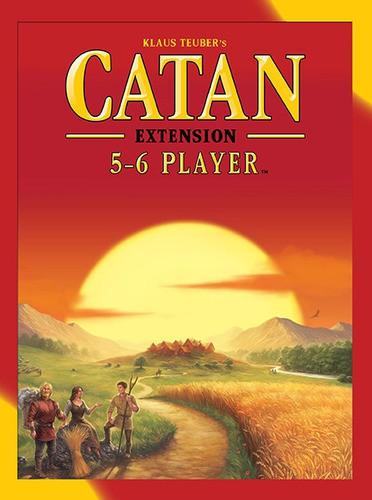 The Settlers of Catan - 5 and 6 Player Extension