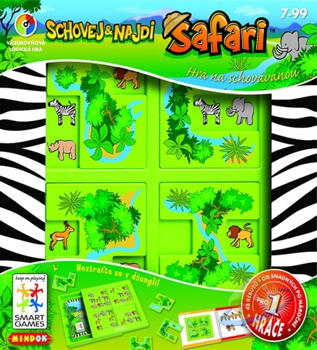 SMART Schovej a najdi: Safari