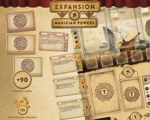 Trickerion - Legends of Illusion: Dahlgaard´s Gifts