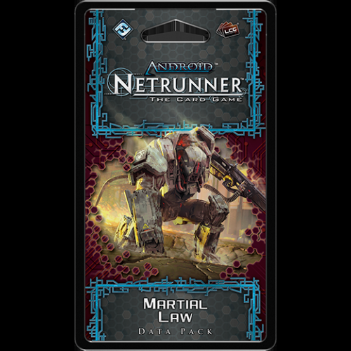 Android: Netrunner LCG: Martial Law