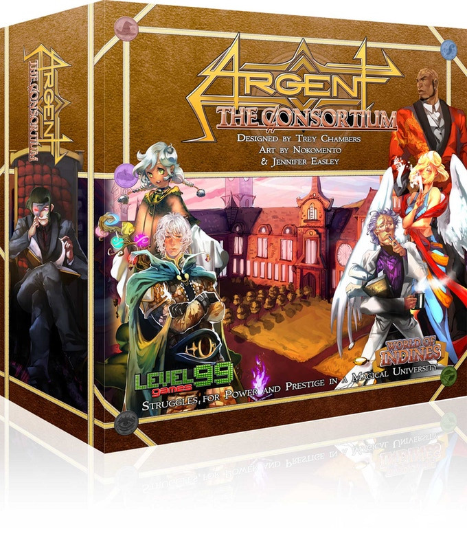 Argent: Mancers of the University 2nd edition