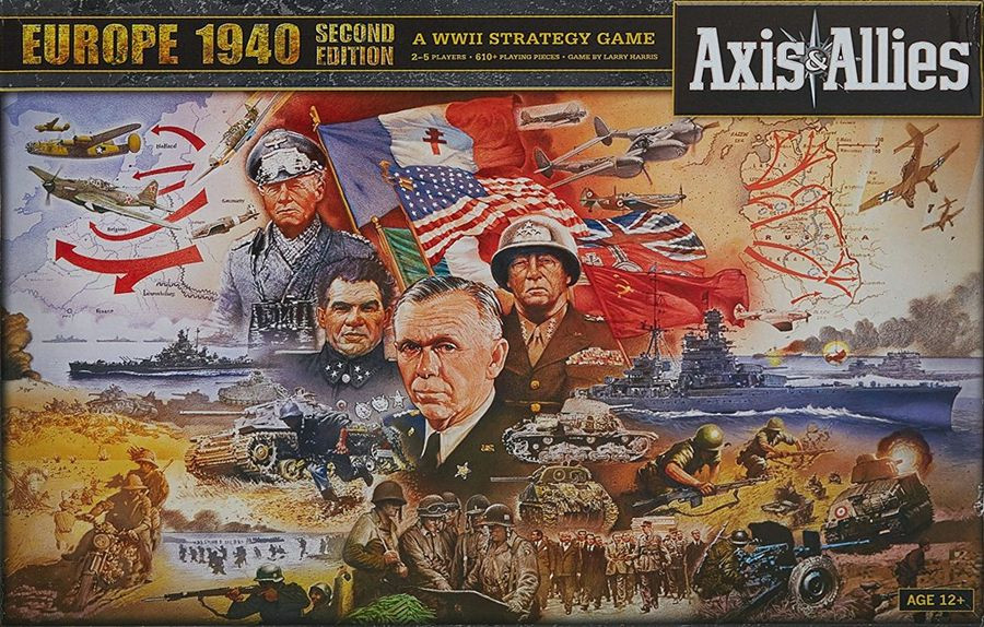 Axis  and  Allies Europe: 1940 Edition