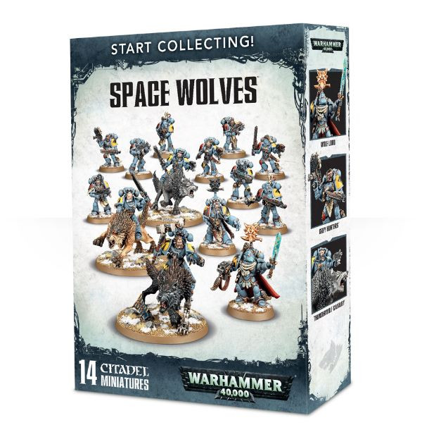 Start Collecting! Space Wolves (Warhammer 40,000)