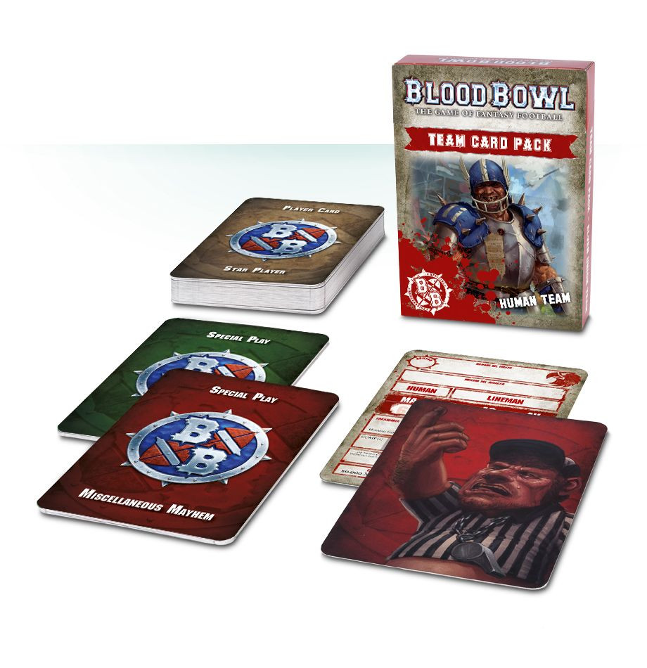 Blood Bowl Team Card Pack - Human Team