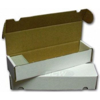 Cardbox / Fold-out Box  - Krabice na karty (1000 karet)