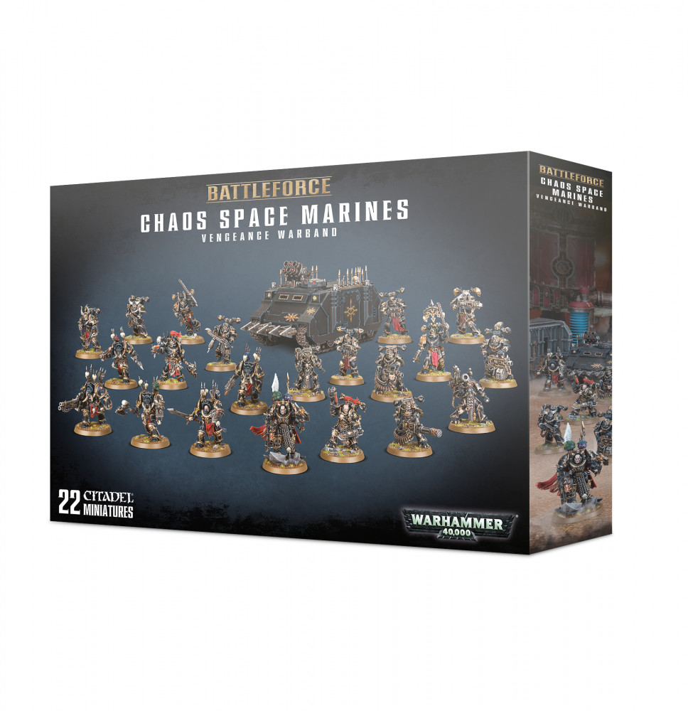 Chaos Space Marines Vengeance Warband (Warhammer 40,000)