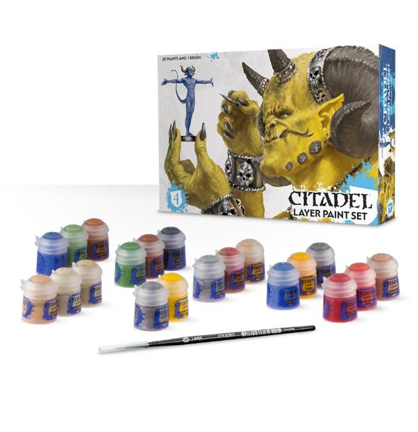 Citadel Layer Paint Set (set Layer Citadel barev na figurky)