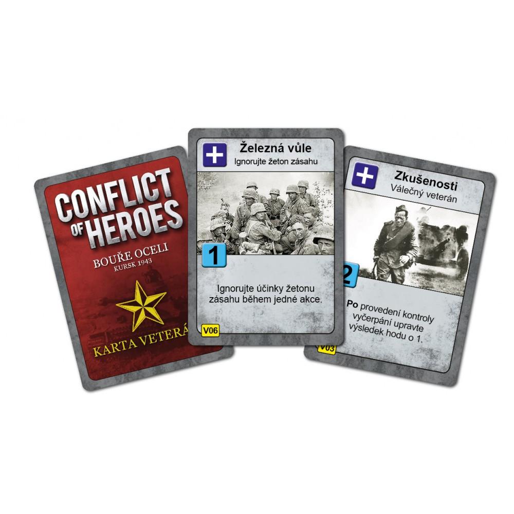 Fox in the Box Conflict of Heroes Bouře oceli karty