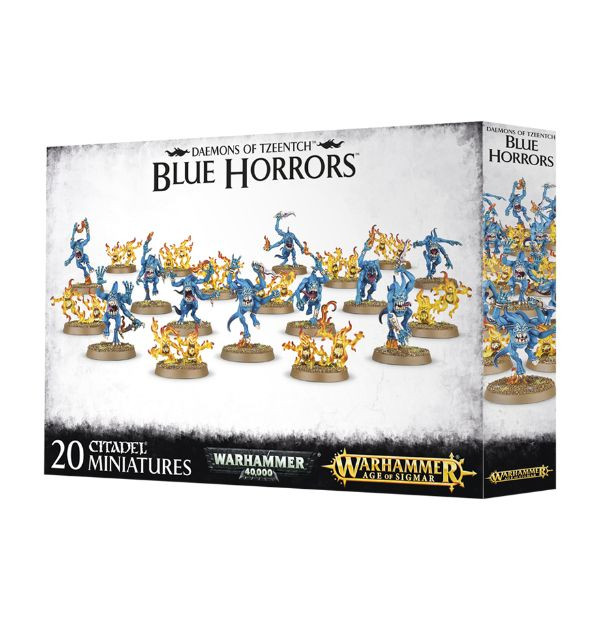 Daemons Of Tzeentch: Blue Horrors & Brimstone Horrors