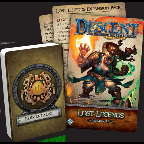 Descent: Journeys in the Dark (Second Edition) – Lost Legends Expansion Pack