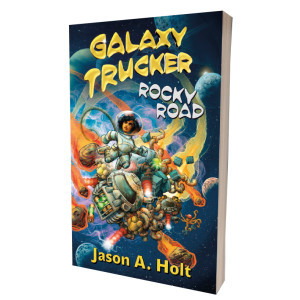 Galaxy Trucker: Rocky Road Novel (kniha)