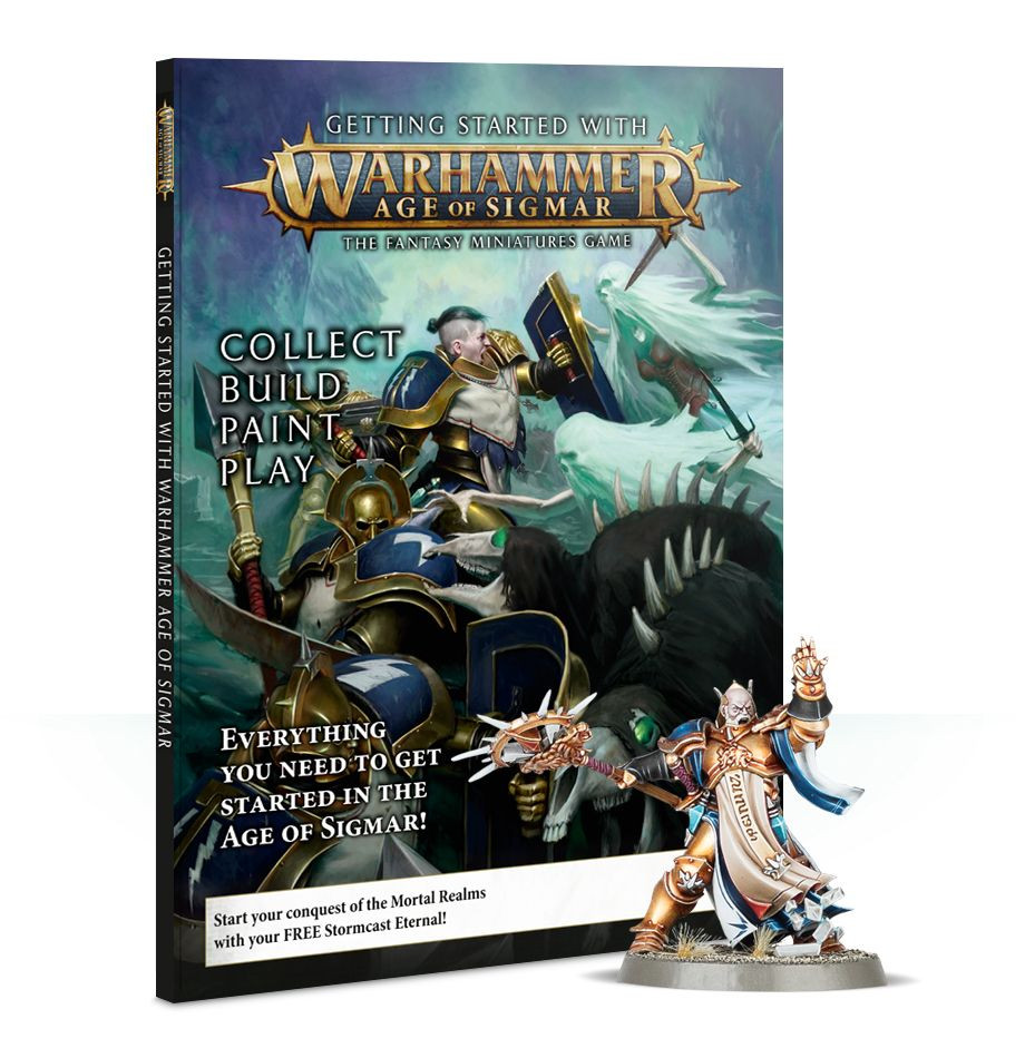 Getting Started with Warhammer: Age of Sigmar 2018