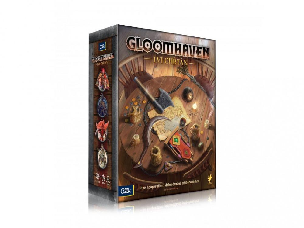 Gloomhaven - Lví chřtán krabice