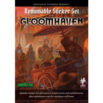 Gloomhaven - Removable Stickers