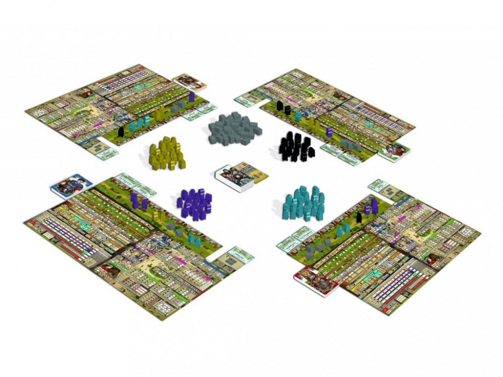 TLAMA Games Hadriánův val hrací plocha