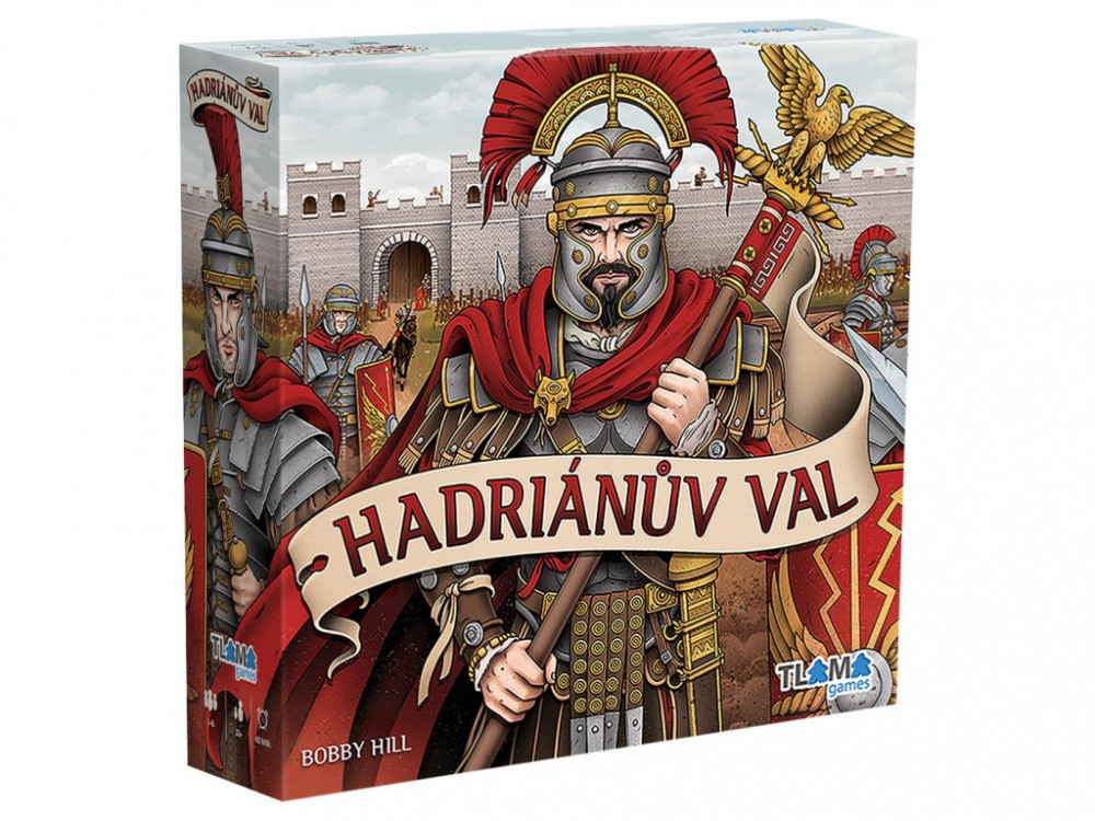 TLAMA Games Hadriánův val krabice