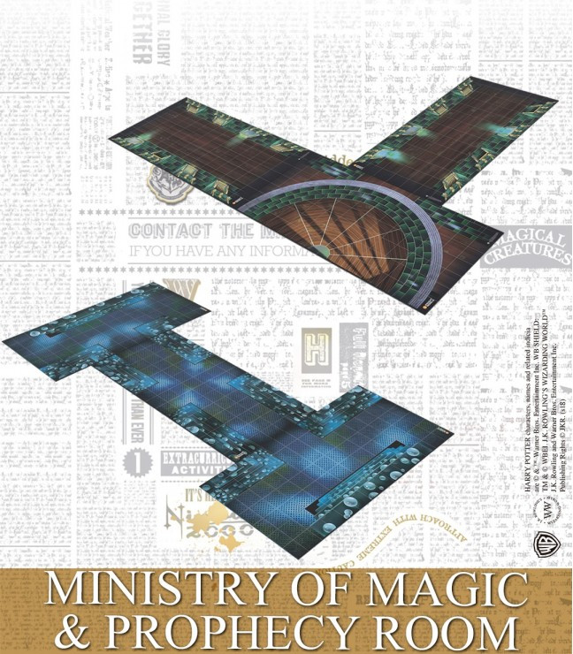 Harry Potter Miniatures Adventure Game - Ministry of Magic and Prophecy Room