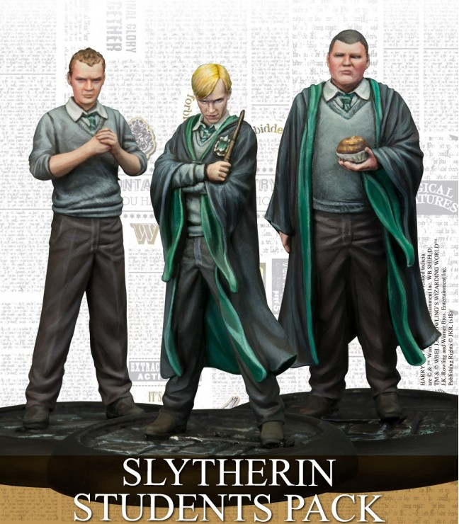 Harry Potter Miniatures Adventure Game - Slytherin Students