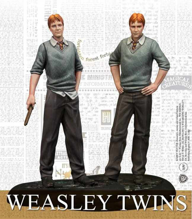 Harry Potter Miniatures Adventure Game - Weasley Twins