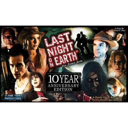 Last Night on Earth: The Zombie Game – 10 Year Anniversary Edition