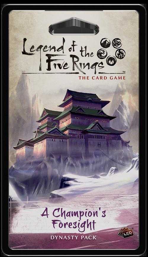 Legend of the Five Rings: The Card Game – A Champion's Foresight