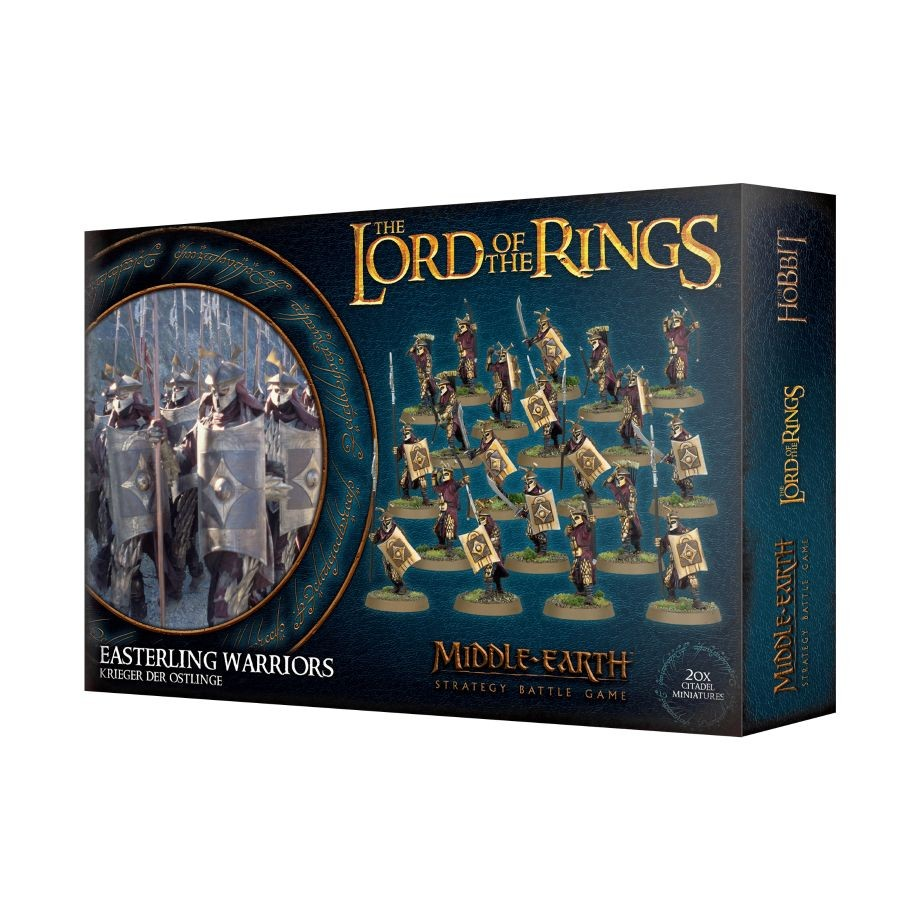 Middle-Earth Strategy Battle Game -Easterling Warriors