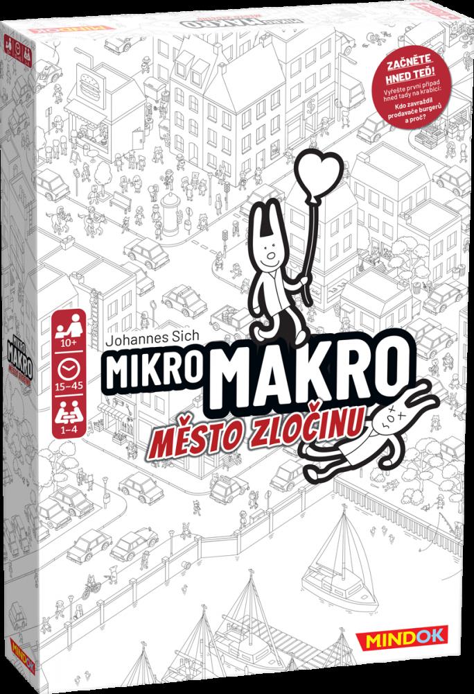 Mikromakro: Město zločinu balení
