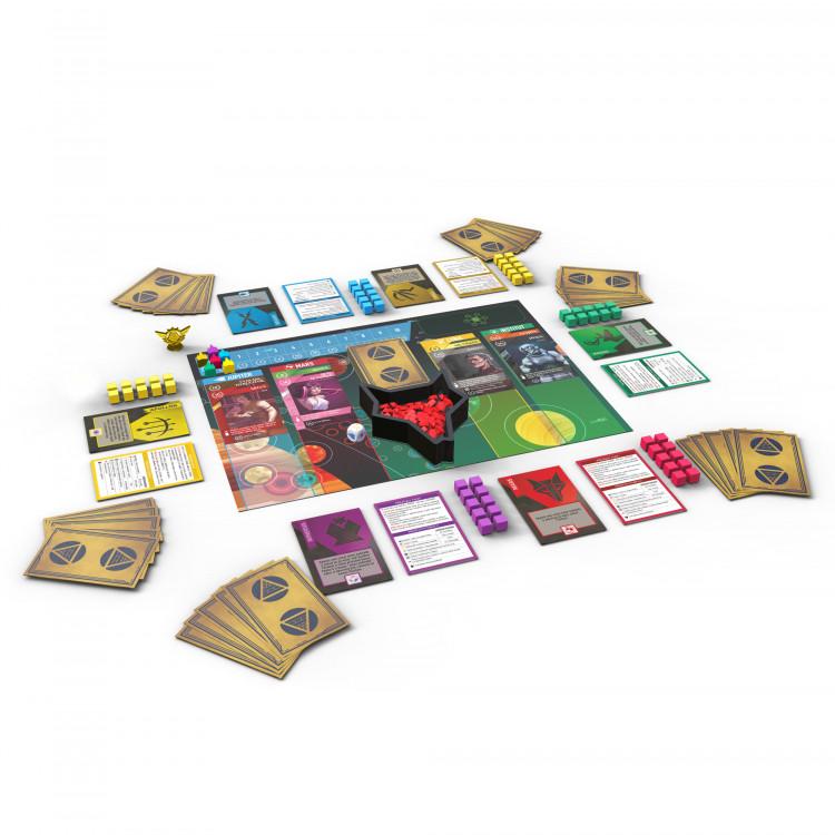 Albi Rudý úsvit karty a herní plán