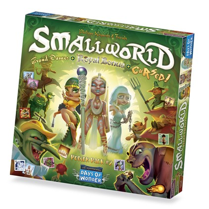 Small World Race Collection 2: Cursed, Grand Dames & Royal