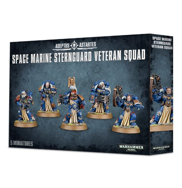 Space Marines: Sternguard Veteran Squad