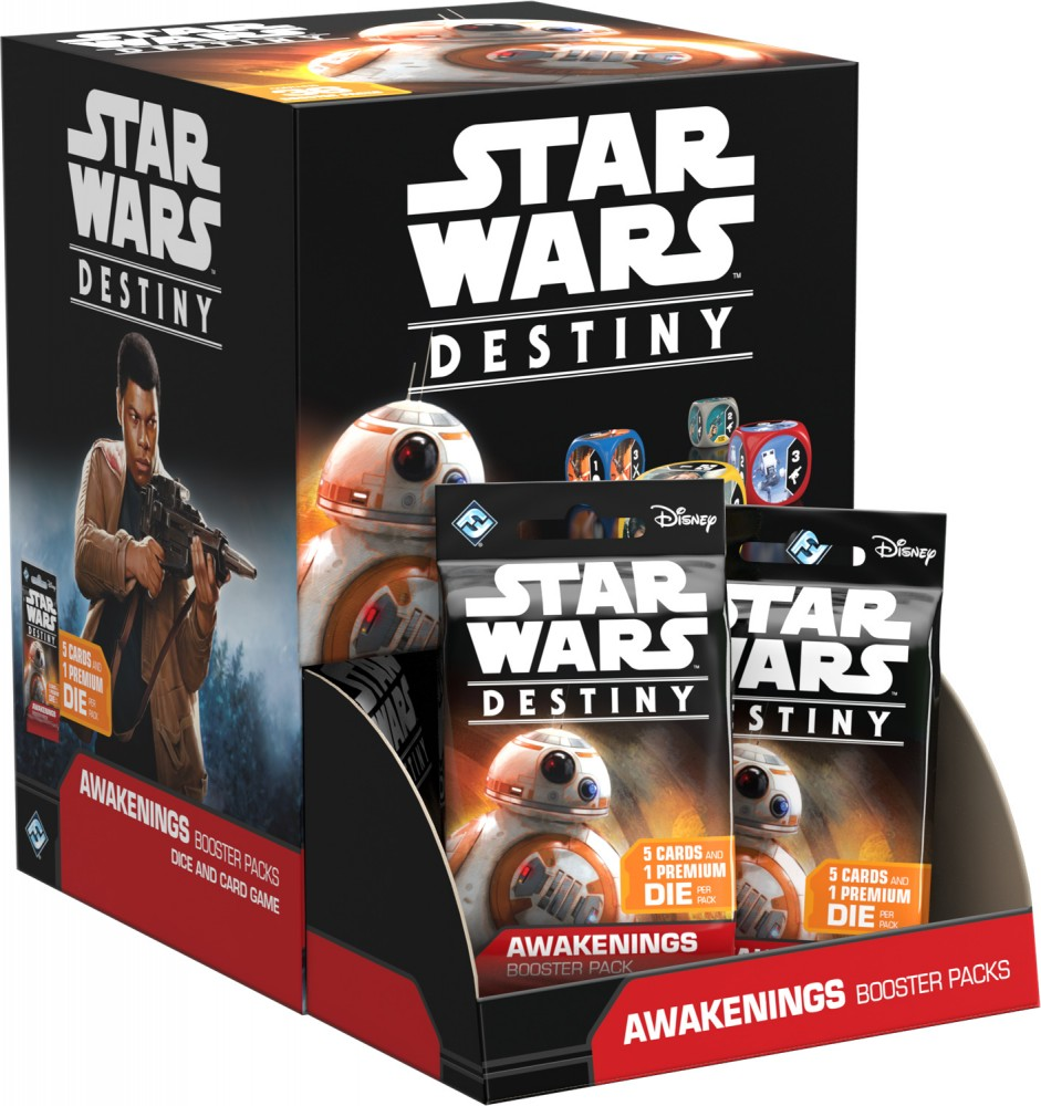 Star Wars: Destiny - Probuzení - Booster Box - CZ