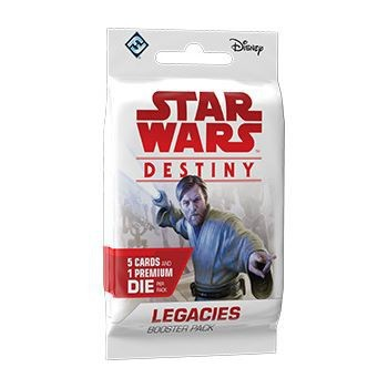 Star Wars: Destiny - Legacies Booster - anglicky