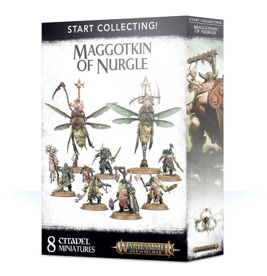 Start Collecting! Maggotkin of Nurgle (Warhammer: Age of Sigmar)