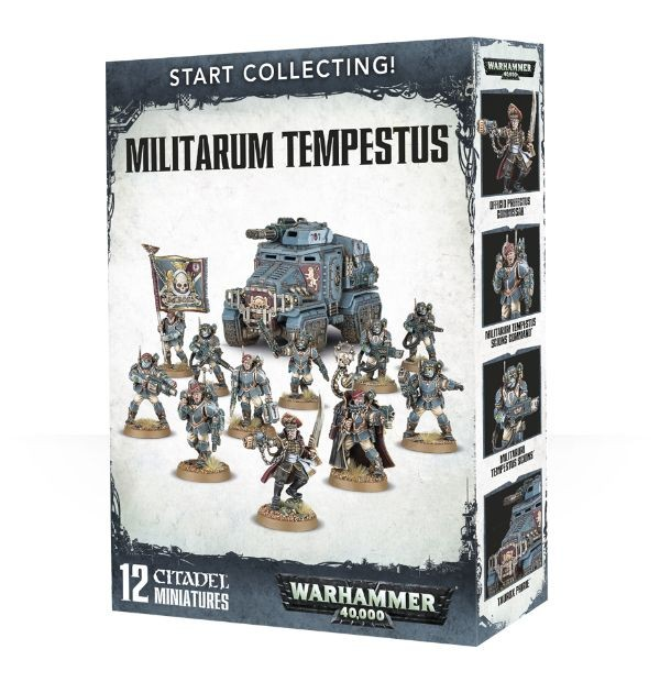 Start Collecting! Militarum Tempestus (Warhammer 40,000)