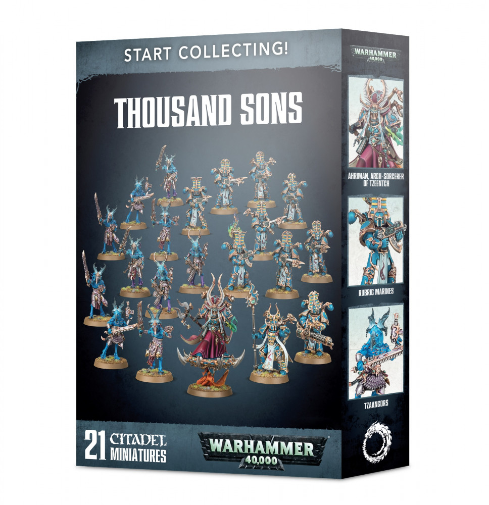 Start Collecting! Thousand Sons (Warhammer 40,000)
