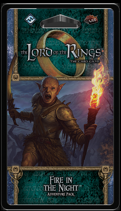The Lord of the Rings LCG: The Card Game – Fire in the Night