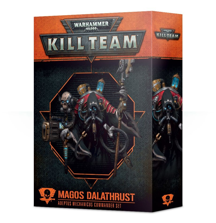 Warhammer 40,000: Kill Team: Magos Dalathrust Adeptus Mechanicus Commander Set