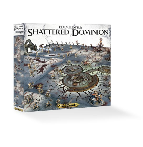 Warhammer Age of Sigmar Realm of Battle: Shattered Dominion (terén)