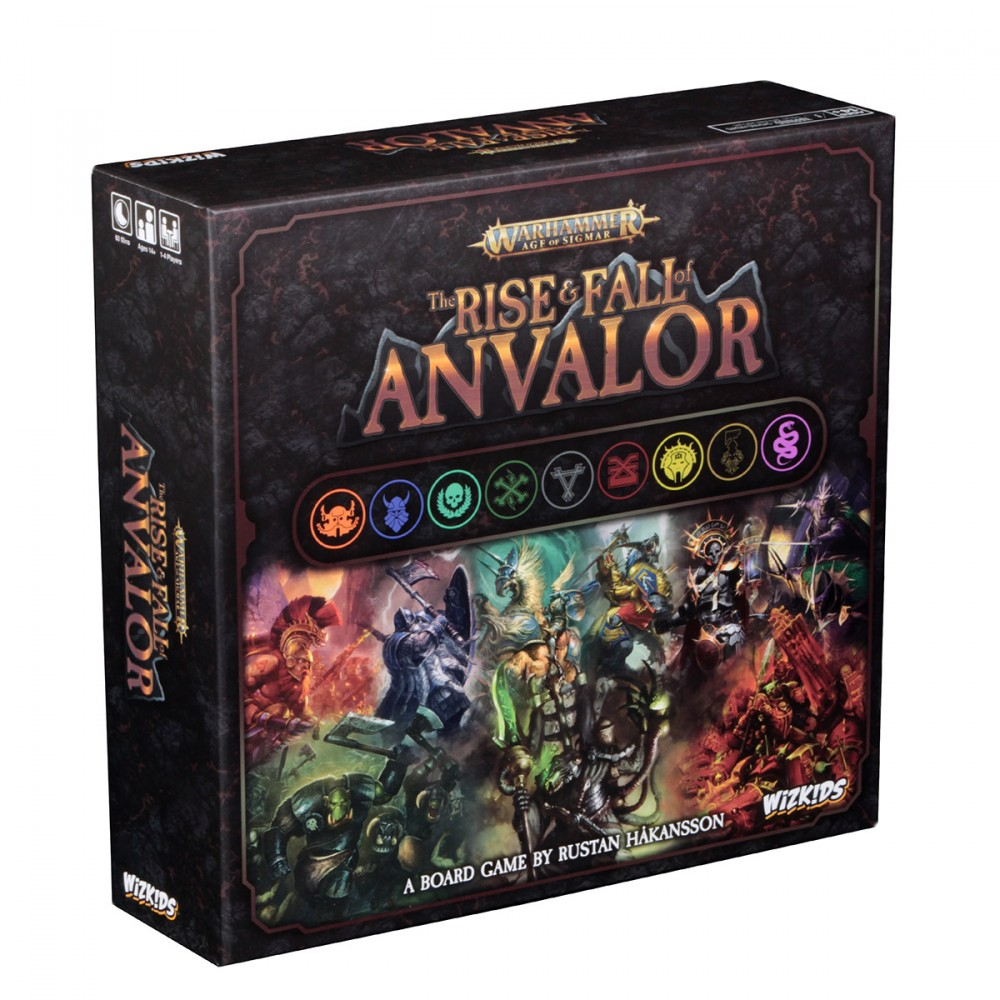 Warhammer: Age of Sigmar – The Rise & Fall of Anvalor