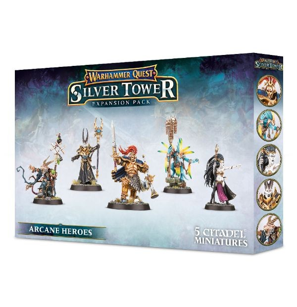 Warhammer Quest: Silver Tower – Arcane Heroes